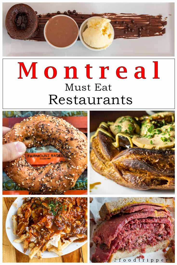 Iconic Montreal Restaurants That You Cannot Miss En 2020 Montreal Canada Voyage Montreal Montreal En Lumiere
