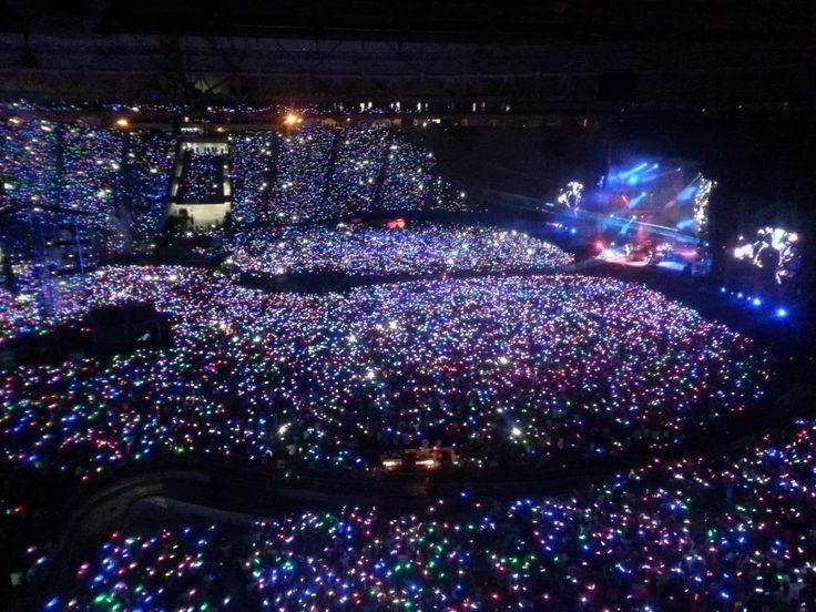 Coldplay, Show en el Estadio Ciudad de La Plata