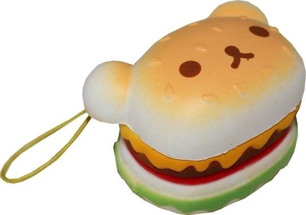 Squishy Rilakkuma hamburger