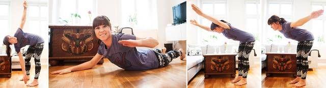 3 stolta övningar - PT:n Johanna Björklunds visar tre övningar för ryggen | Träning | Wellness | Aftonbladet
