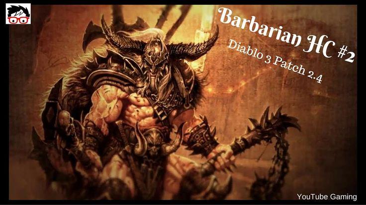 Diablo 3 patch 2.4 on PS4 Barbarian HC Story Mode [ITA/EN] #Diablo3