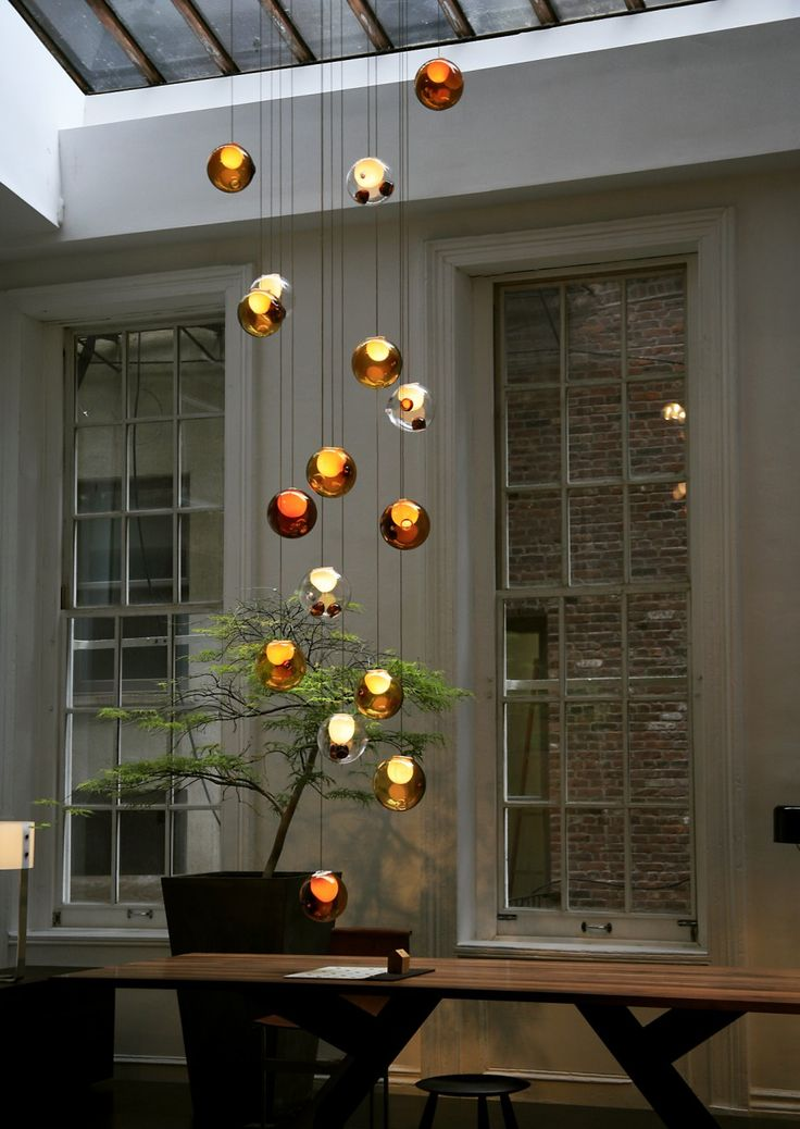 Hang Ornaments From The Ceiling Like This Over The Dining Room Table Or  Island In The · Contemporary ChandelierContemporary ...
