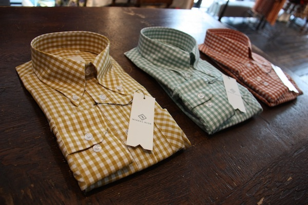 Mikkel Rude button down, Permanently pressed 60's style fitted shirts. #Mikkel #Rude