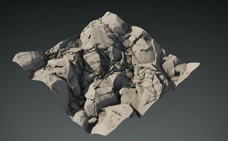 ArtStation - 03 French Rocks, Anthony Pitts