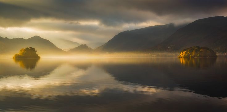 Revelations - Vemsteroo - Light connects two of the islands that reside on Derwentwater. Mist rising like a revelation.  Twitter | Website | Facebook | Instagram -  http://ift.tt/2g51fyD IFtemppicpinned in Building blocksdownld in ios #November 12 2016 at 08:00PM#via IF