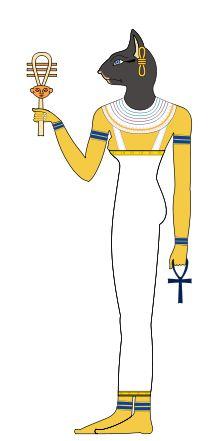 Bastet - Deusa da fertilidade e dos eclipses solares