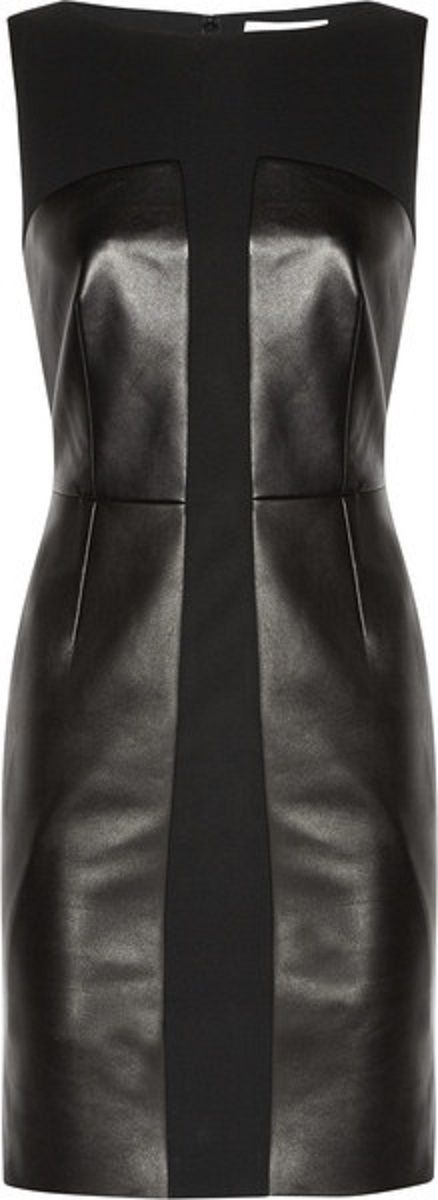 YSL Leather Dress.              FW