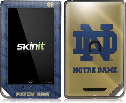 251 best electronics images on pinterest consumer electronics skinit notre dame vinyl skin for nook color nook tablet by barnes and noble by fandeluxe Images