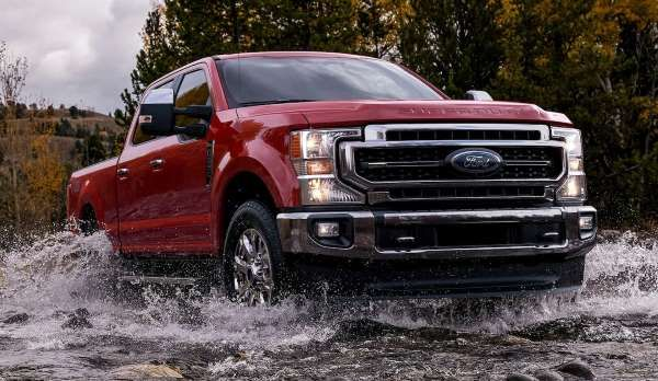 2020 Ford F 250 Super Duty King Ranch Motor Trend Staff Ford