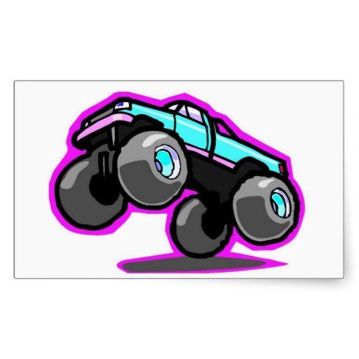 Best Sticker Decal Monster Truck Images On Pinterest Monster