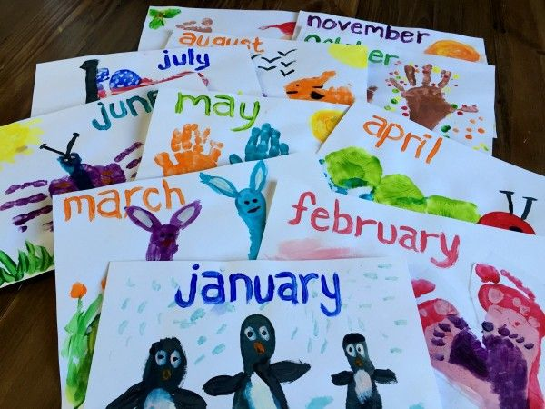 """Throughout the month of November, the kids and I worked on an """"extra special Christmas present project"""" that we couldn't share until after all our Christmas gifts had been given. We made calendars for"""