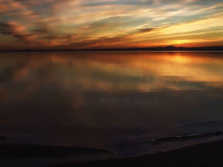 la-meraviglia-si-espande-al-tramonto.jpg (Fotografia),  100x70x1 cm da daniele-gozzi-62 La meraviglia si espande al tramonto.