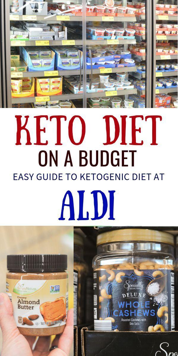 55 Keto auf einem Etat Nahrungsmittel von Aldi