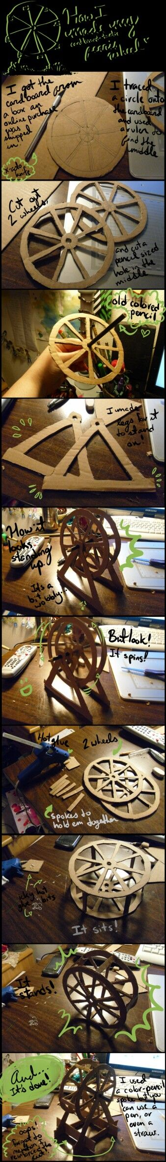 Homemade ferris wheel