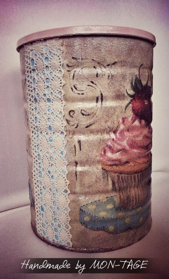 Muffinos doboz - Ajándék, Dekoráció, Otthon, Lakberendezés.