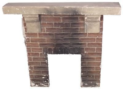 How to Clean Black Ash Off Brick Fireplaces