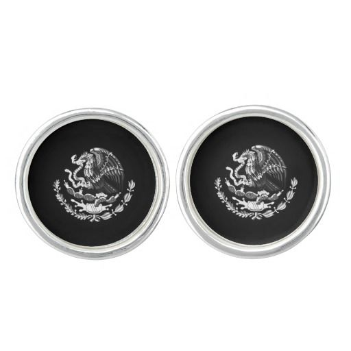 Mexican coat of arms cufflinks