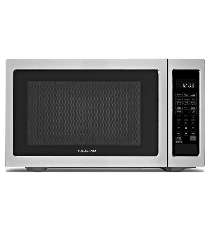 Kitchenaid 1200 Watt Countertop Microwave Oven Architect Series Ii Kcms1655bss Stainless