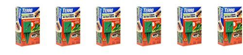 TERRO T1812 Outdoor Liquid Ant Killer Bait Stakes - hfswCh 8 Count (0.25 oz each), 6Pack