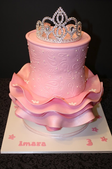 Sandy's cake created this adorable Princess ballerina cake complete with tutu. I love it!