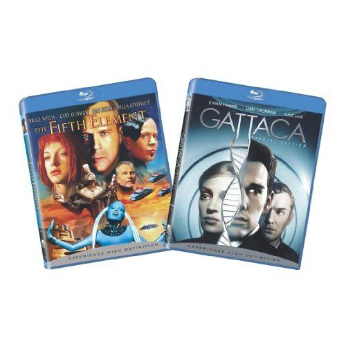 Amazon.com: The Fifth Element / Gattaca [Blu-ray]: Bruce Willis, Milla Jovovich, Gary Oldman, Ethan Hawke, Uma Thurman, Jude Law, Ian Holm, Chris Tucker, Luke Perry, Brion James, Tommy 'Tiny' Lister, Lee Evans, Andrew Niccol, Luc Besson, Danny DeVito, Gail Lyon, Georgia Kacandes, Robert Mark Kamen: Movies & TV