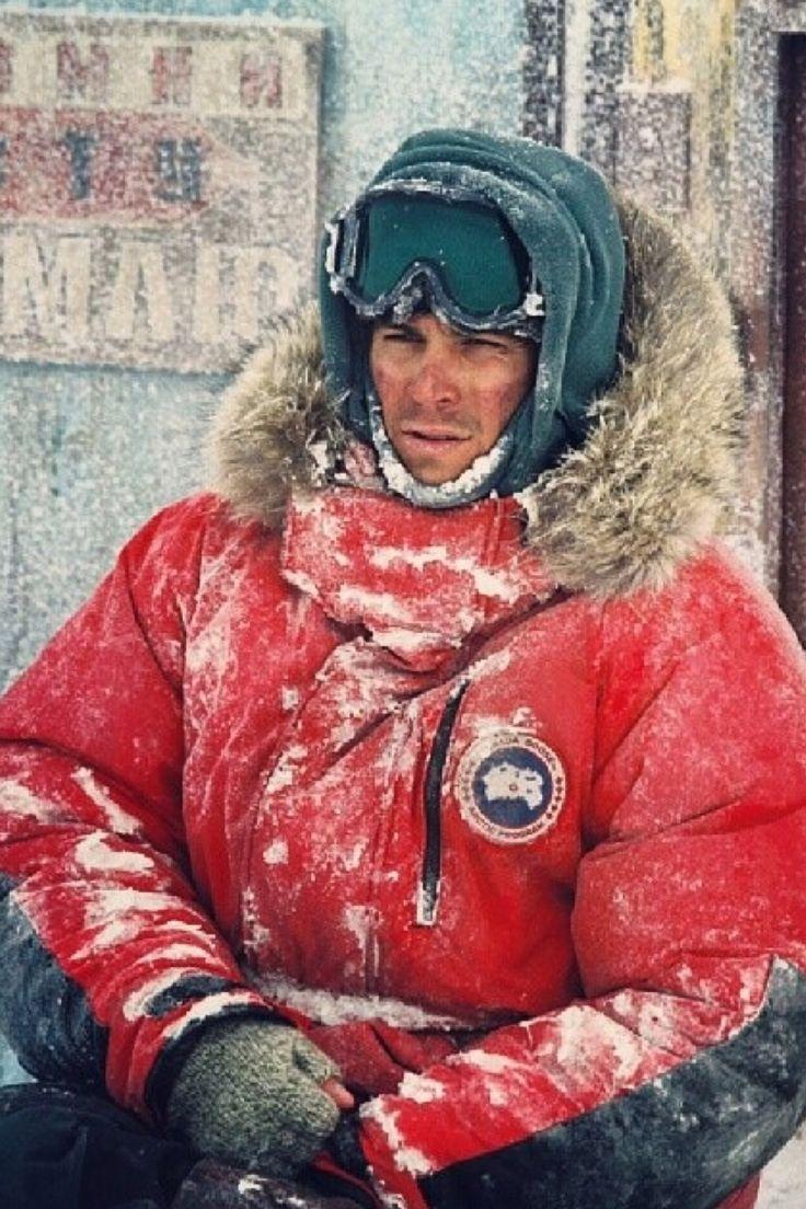 Paul Walker, Eight Below. He still looks hot even in sub zero temperatures.