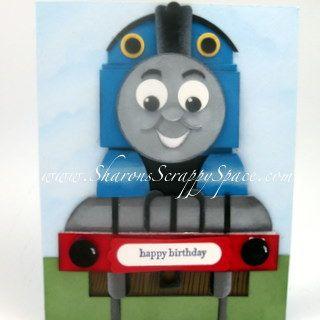 Thomas the Train punch art