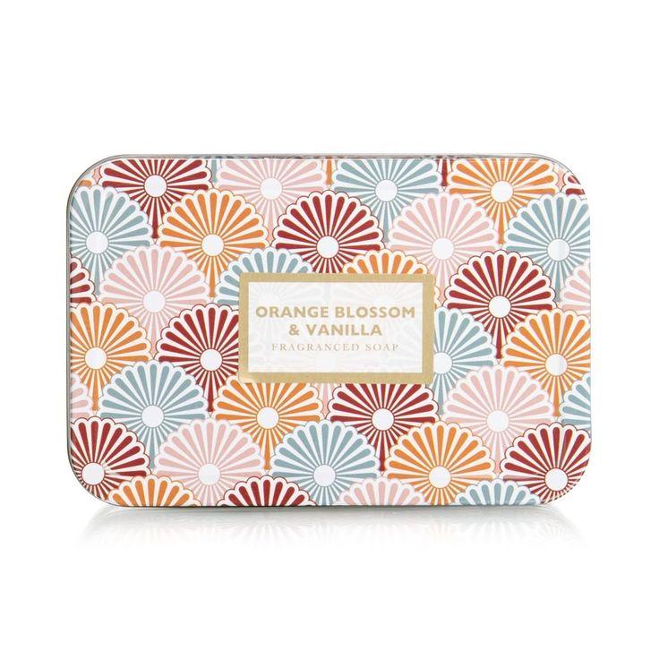 Orange & Vanilla Tin Soap