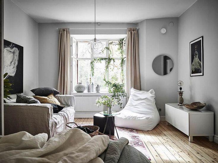 Földszinti 37m2-es lakás nőies kedves természetes egyszerűséggel berendezve