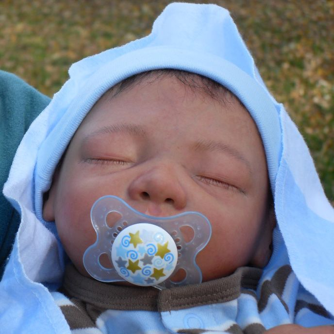 Sleeping Baby Boy Reborn Doll Drawing And Coloring For