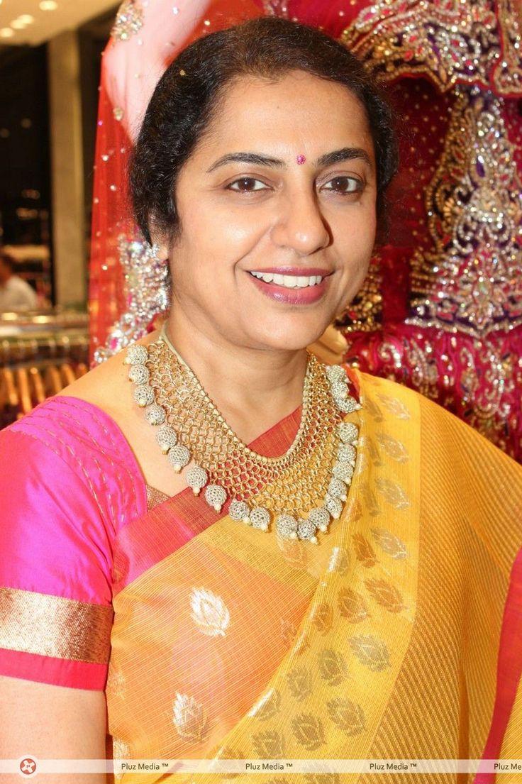 Suhasini in gundla haram jewellery designs - Unique Design