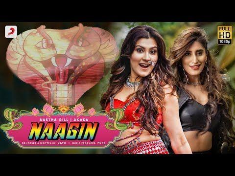 Naagin Gin Gin Song Naagin Song Na Gin Gin Gin Song Aastha Gill Punjabi Song Tiktok Songs Youtube Youtube Bollywood Songs Songs