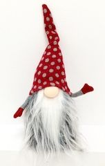 Tomte with polkadotted hat