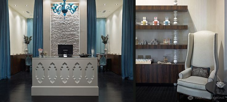 Top 15 ideas about modern hair nail salons on pinterest pedicures custom mirrors and spas - Salon design moderne ...