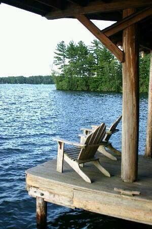A nice, relaxing fishing spot.