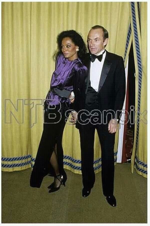 Ms Diana Ross And Arne Naess Motown Artist