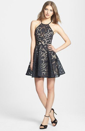 Keepsake the Label 'Romantic Rebel' Burnout Dress available at #Nordstrom