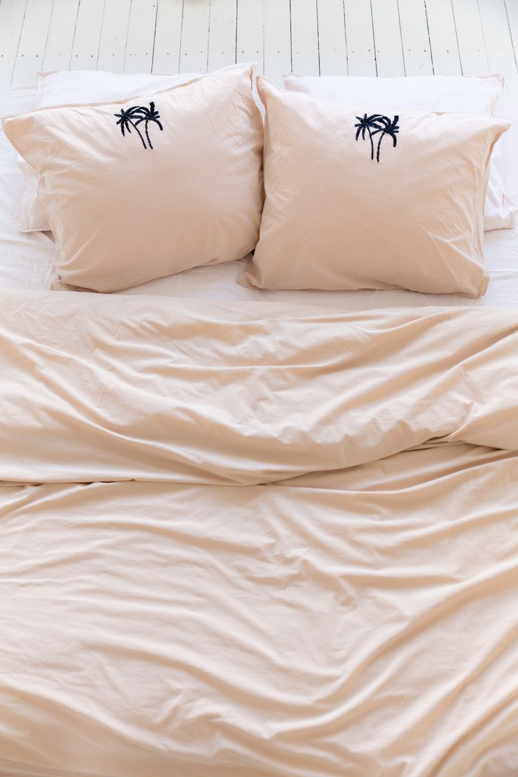 crisp sheets beddengoed palmboom