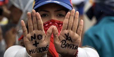 Siete caras del momento crítico que vive Venezuela