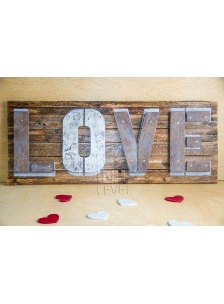 """Настенная панель """"LOVE"""""""