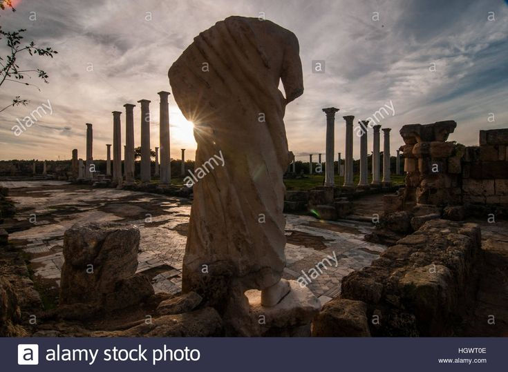 Ancient roman ruins in #Salamis, Northern #Cyprus #travel #sites #lifestyle