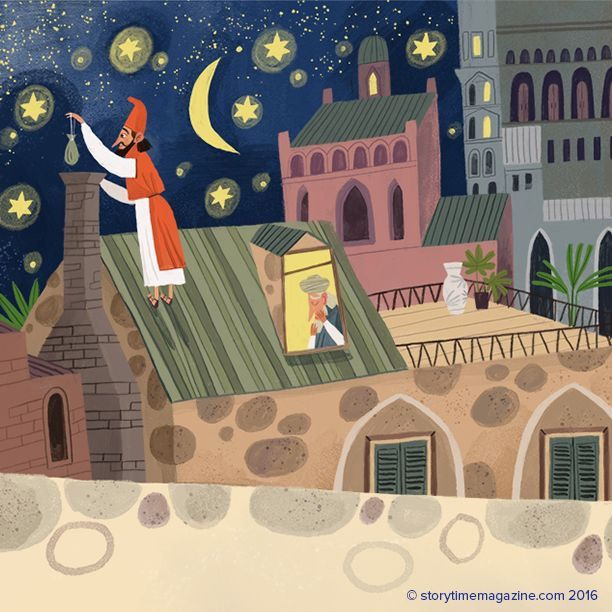 The origins of Santa Claus - and how St Nicholas first gave gifts. A legend from Turkey in Storytime's Christmas Issue! Art by Olga Demidova (http://olgademidova.ru) ~ STORYTIMEMAGAZINE.COM