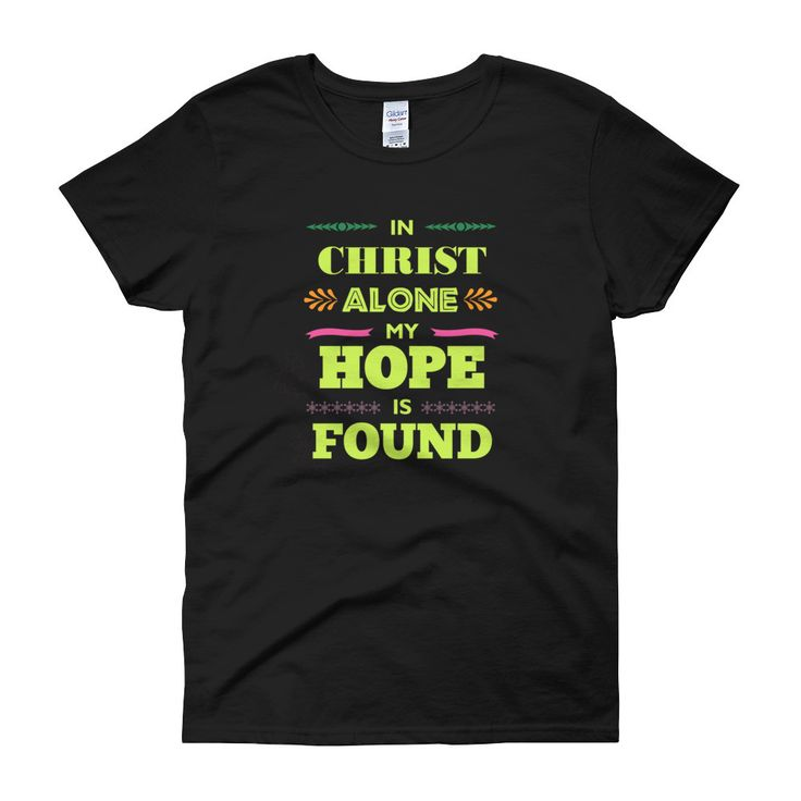 In Christ Alone Women's short sleeve t-shirt