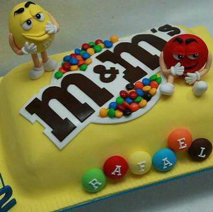 Best MM Images On Pinterest Peanuts Candies And Kitchen - M and ms birthday cake