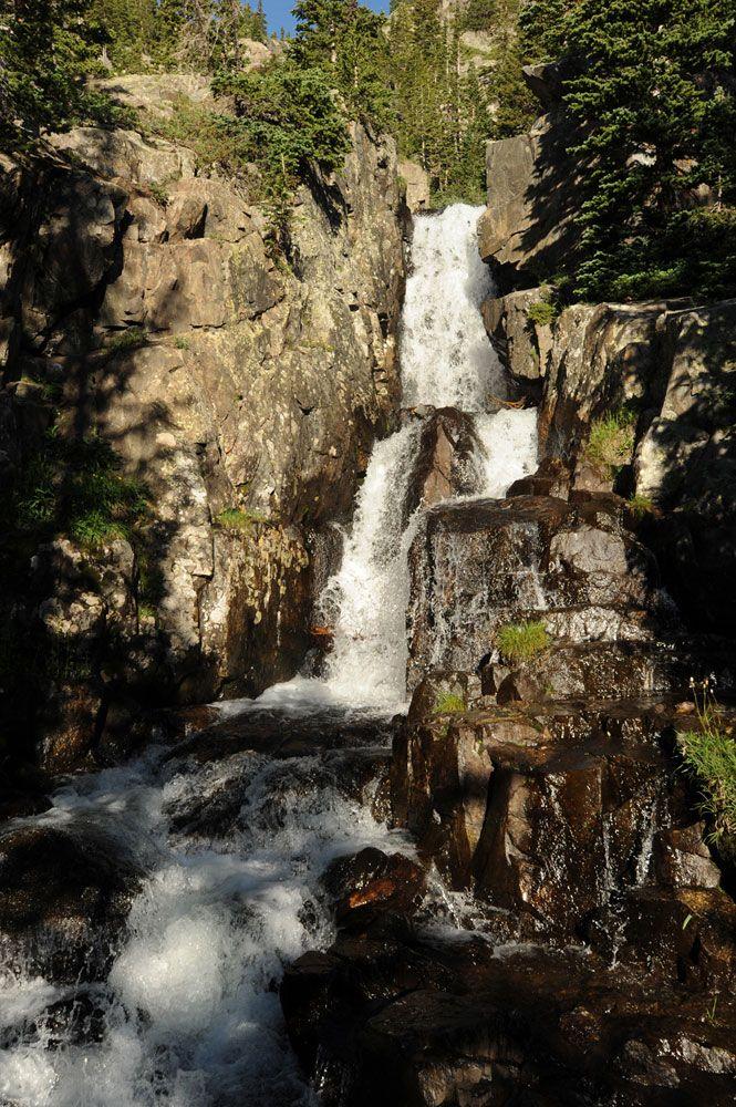 Waterfall hikes near Breck