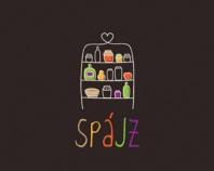 spájz | pantry  #type #logo #design