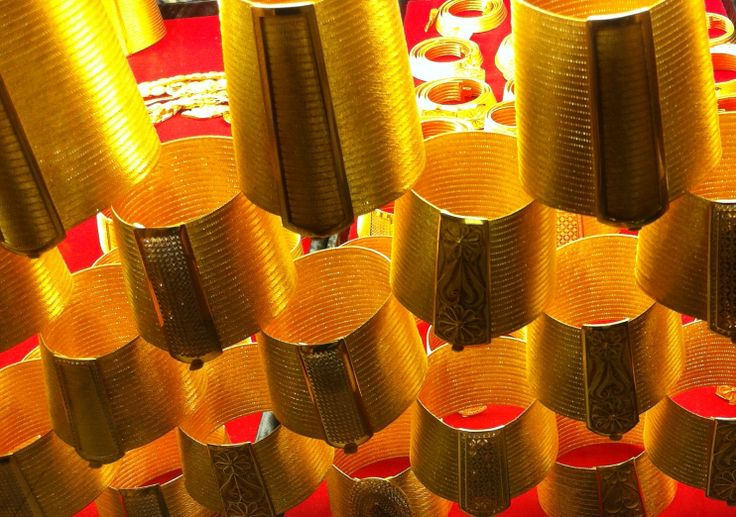 Brazaletes de oro - Gran Bazaar, Estambul / Gold bracelets - Grand Bazaar, Istanbul