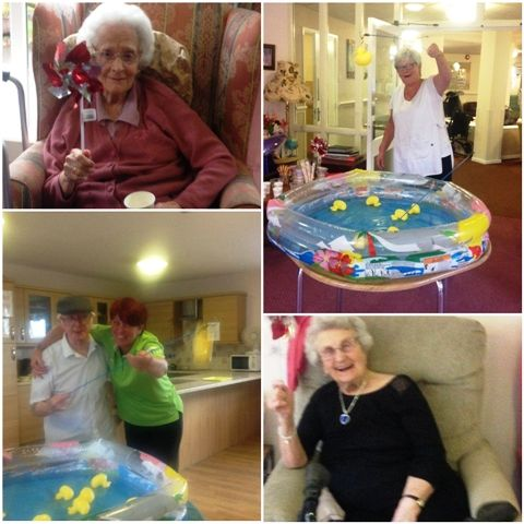All the fun of the fair at Birch Green - Birch Green Care Home Skelmersdale