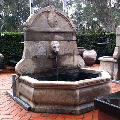 http://www.thegreenery.com.au/Lion-Head-Fountain