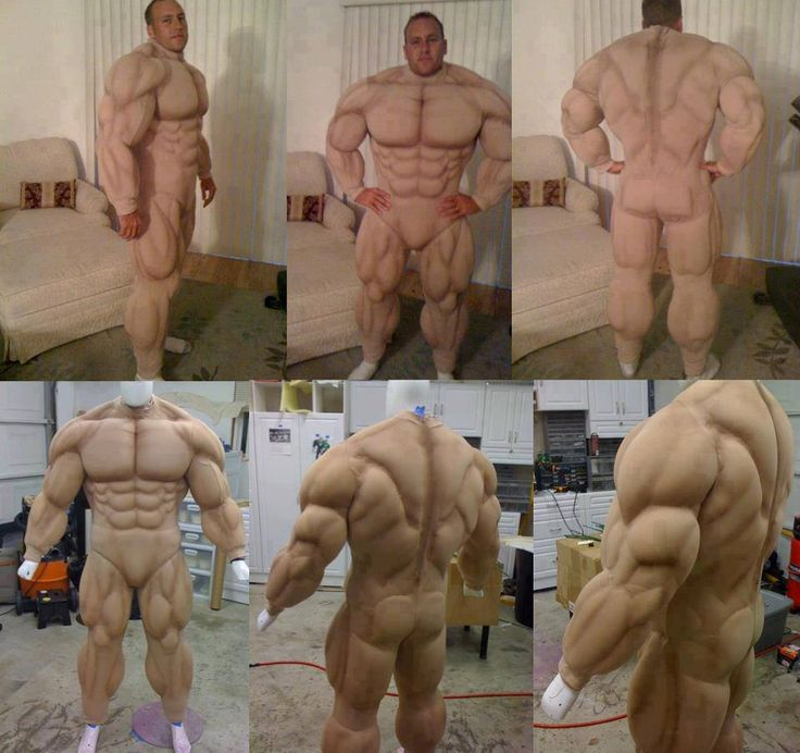 MUSCLE SUIT....This is the only way I could get massive....